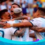 Argentina consiguió un resultado de alivio ante Venezuela