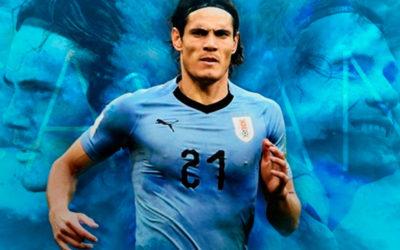El matador rompió el maleficio. Marcó el primer gol en Copas Américas y Uruguay gana 2 a 0 a Ecuador. Relata Víctor Hugo