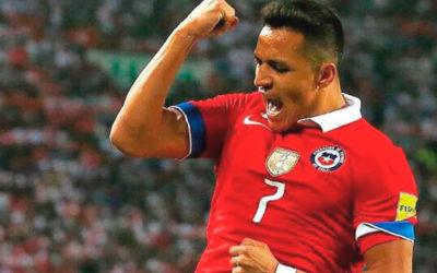 Alexis Sanchez alegra a todos los chilenos con su tanto