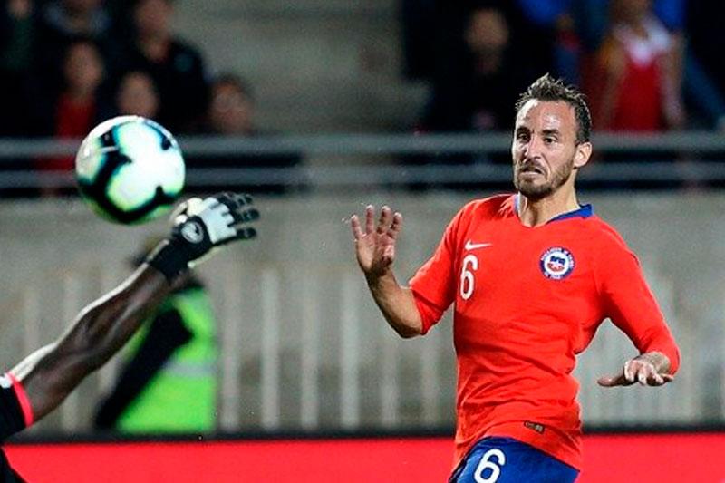 Fuenzalida abrió el marcador para Chile