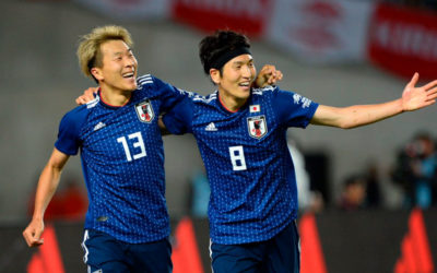 Japón llega pisando fuerte