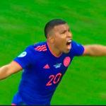 Golazo de Colombia, Roger Martínez dice que Colombia gana en la Copa América por 1 a 0 a la Argentina