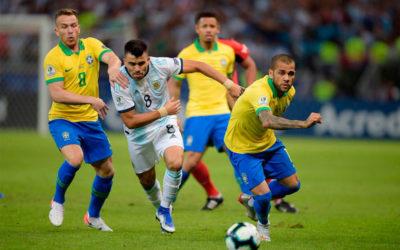 Brasil venció a Argentina en un polémico y áspero partido