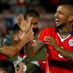 Arturo Vidal descontó de penal