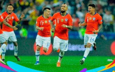 Chile clasificó a la semifinal de la Copa América
