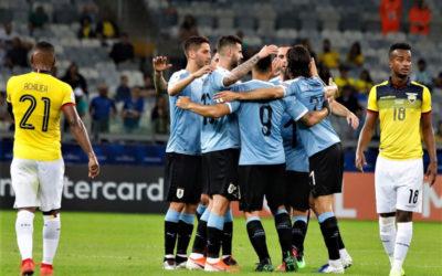 Así relató Víctor Hugo el debut de Uruguay en la Copa América