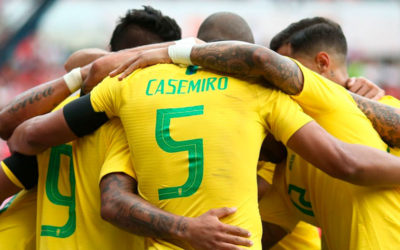 Casemiro pone a Brasil en lo alto del Grupo A