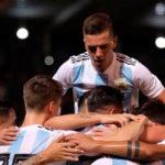 GOL ARGENTINO!!! A los 28 del ST, Giovanni Lo Celso estampa el segundo gol, tras un rebote del arquero en el remate de Agüero.