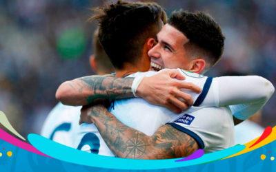 Argentina se quedó con el tercer puesto de la Copa América